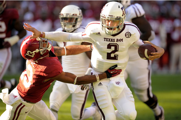 NCAA Football: Texas A&amp;M at Alabama