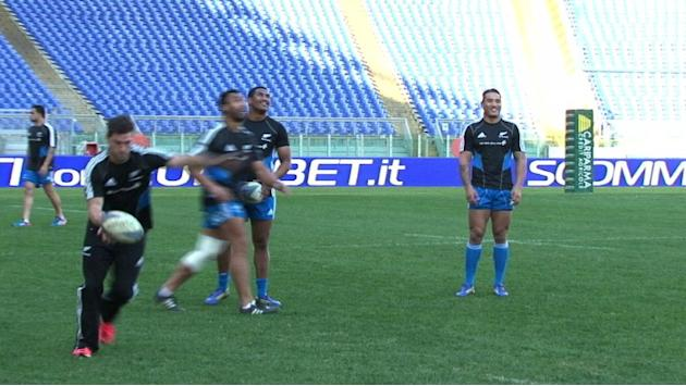 All Blacks say Italy a 'passionate' side