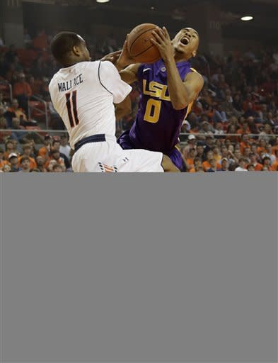 Payne leads Auburn past LSU 68-63 in SEC opener