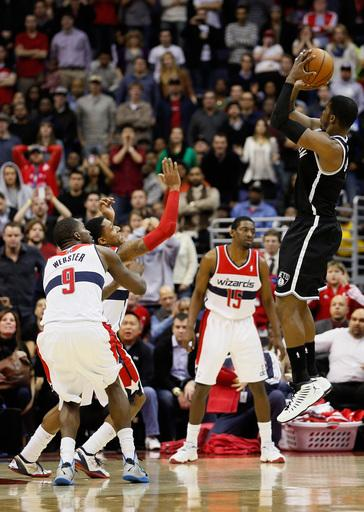 Nets beat Wizards 115-113 in double overtime