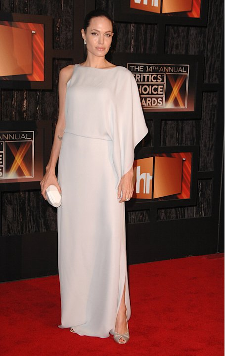 14th Annual Critics' Choice Awards 2009 Angelina Jolie