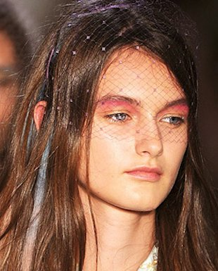 NYFW Beauty: The Covetable Eye Makeup at Peter Som