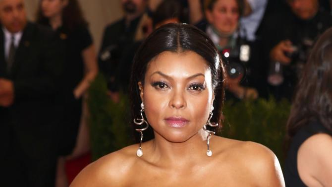 "Taraji P. Henson arrives to the Metropolitan Museum of Art Costume Institute Gala 2015 celebrating the opening of ""China: Through the Looking Glass,"" in Manhattan"