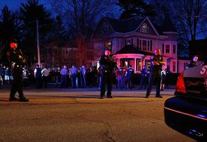 Cambridge, Watertown Massive Police Response | Photo Credits: Jared Wickerham/Getty Images