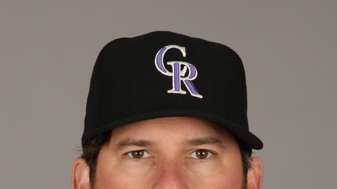 Todd Helton Baseball Headshot Photo
