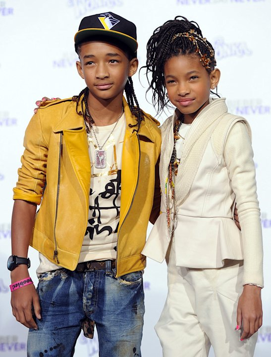 Justin Bieber Never Say Never LA Premiere 2011 Jaden Smith Willow Smith