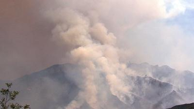 Calif. Wildfire Grows As Winds Reverse Direction