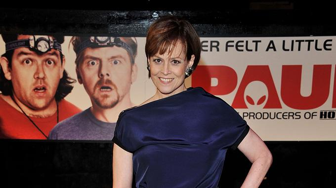 Paul UK premiere 2011 Sigourney Weaver