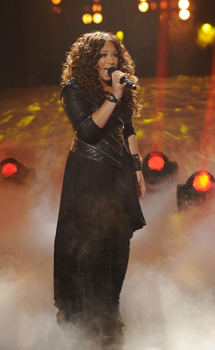 "Melanie Amaro performs ""Earth Song"" by Michael Jackson on ""The X Factor."""