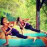 Hot celebrity bodies shaped & toned by yoga workouts