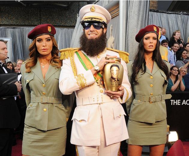 2012 Oscar Arrivals Sacha Baron Coen