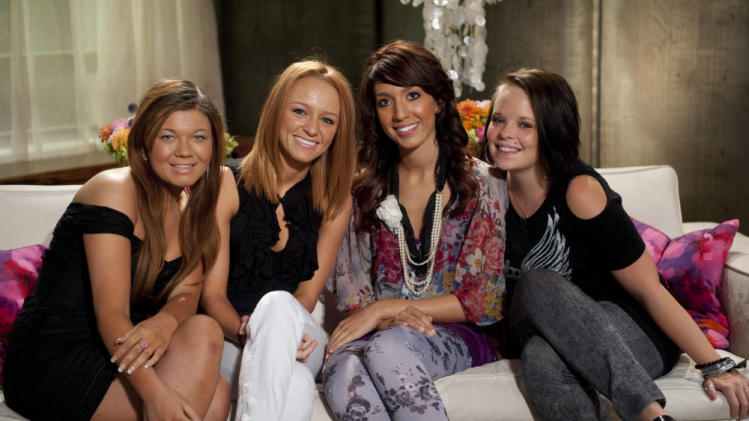 "The cast of ""Teen Mom."""