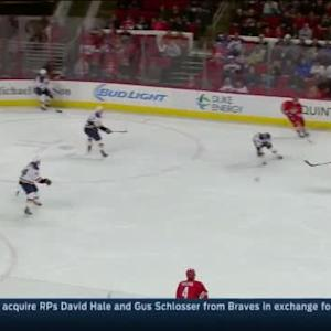 Jake Allen Save on Justin Faulk (12:27/1st)