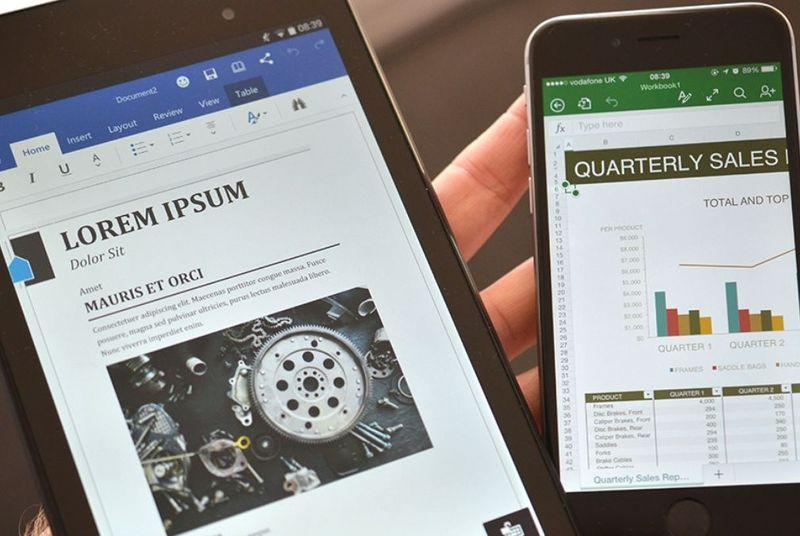 Microsoft Office is out on Android tablets today