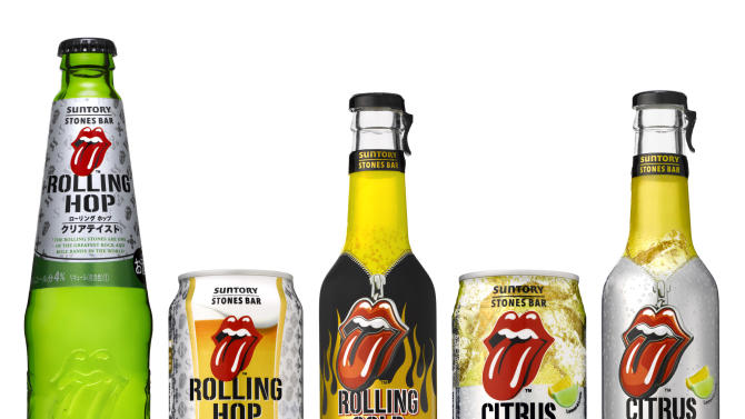 Rolling Stones' longevity marked with new line of drinks