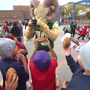 Rams & Goodie Two Shoes Spread Bowl Cheer