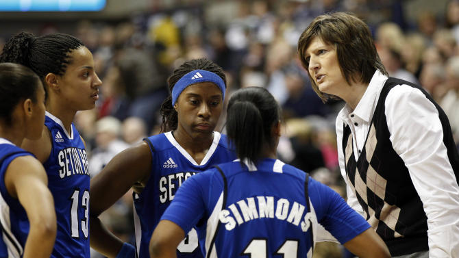 NCAA Womens Basketball: Seton Hall at Connecticut