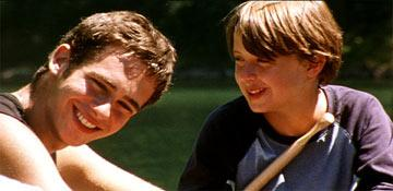 Scott Mechlowicz and Rory Culkin in Paramount Classics' Mean Creek