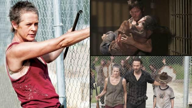 Melissa McBride as Carol in AMC's 'The Walking Dead' -- Gene Page/AMC