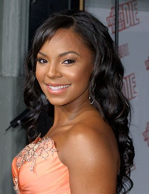 Ashanti at the LA premiere of 20th Century Fox's John Tucker Must Die