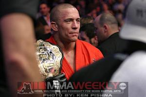 Georges St-Pierre Will Never Fight Again Without Drug Testing From and Independent Agency