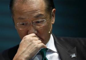 World Bank President Kim attends the opening ceremony of the headquarters of the Green Climate Fund in Incheon