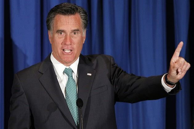 Mitt Romney linked North