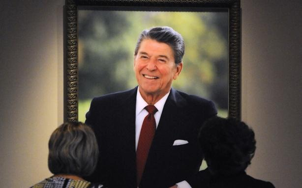 The Reagan Hologram Idea Was a Joke the Whole Time