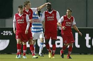 Jozy Altidore brace gives AZ Alkmaar win over Zwolle