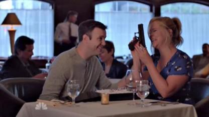 Amy Schumer Takes on Gun Control During Controversial 'SNL' Skit