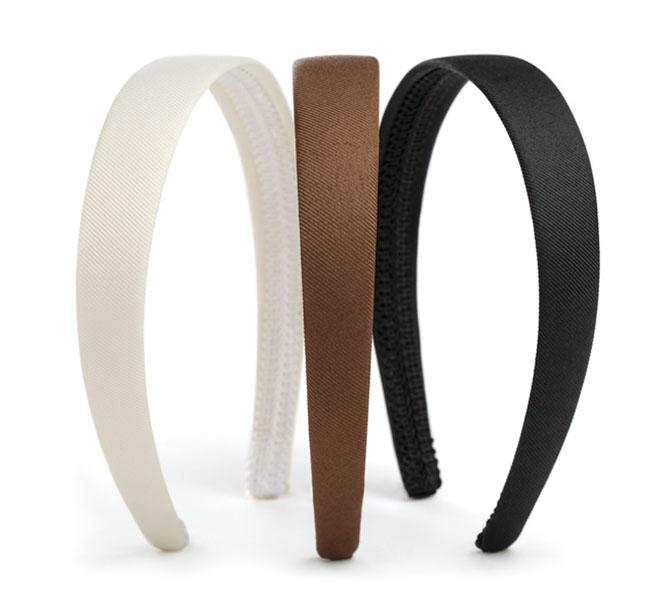 Goody classic fabric headbands (set of 3), $9 at amazon.com