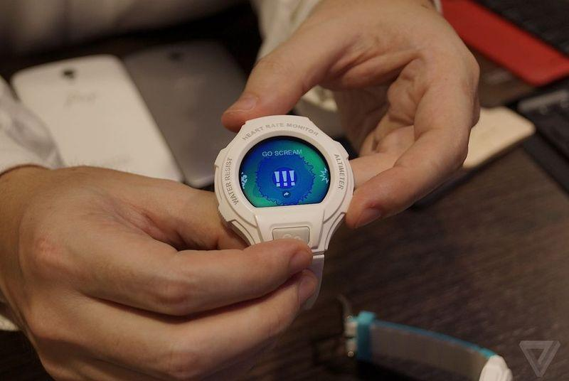 Alcatel envisions the smartwatch as an ugly Casio G-Shock clone