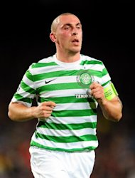 Scott Brown hopes Celtic can show more going forward at Parkhead than they were able to at the Nou Camp