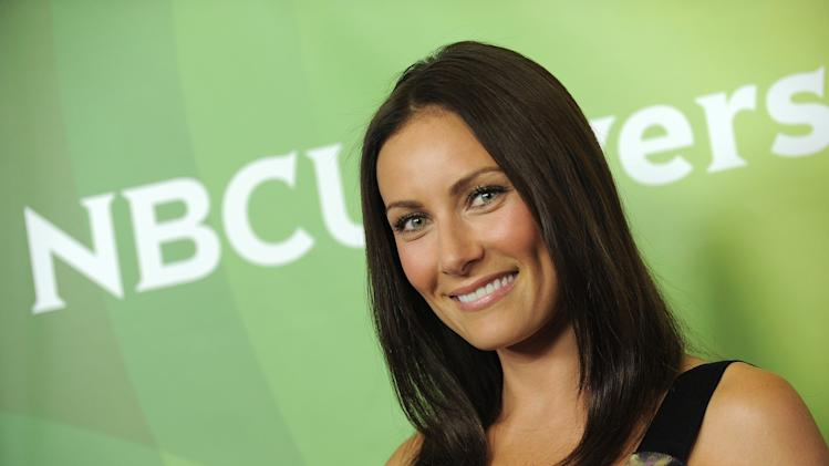 "FILE - This July 24, 2012 file photo shows actress Laura Benanti at NBCUniversal's 2012 Summer Press Tour in Beverly Hills, Calif. Benanti stars opposite Matthew Perry in NBC's ""Go On"" and has a recurring role on USA's ""Royal Pains.""  (Photo by Jordan Strauss/Invision/AP)"