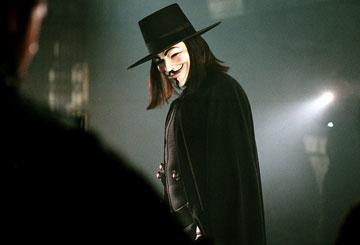 Hugo Weaving in Warner Bros. Pictures' V for Vendetta