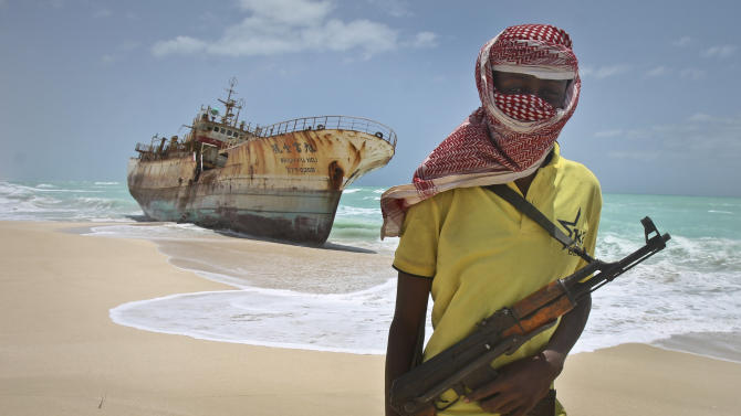World sea piracy falls for third straight year