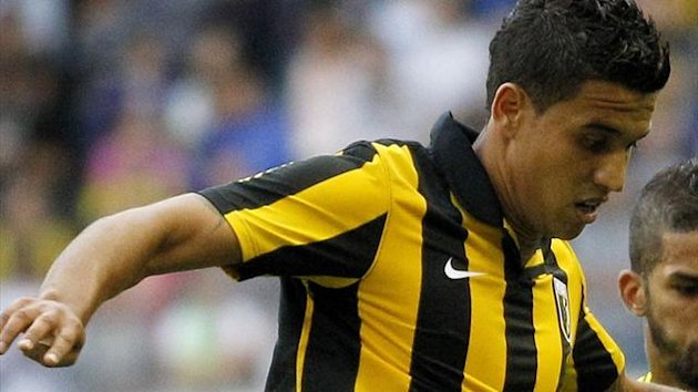 Vitesse's Dutch player Jonathan Reis