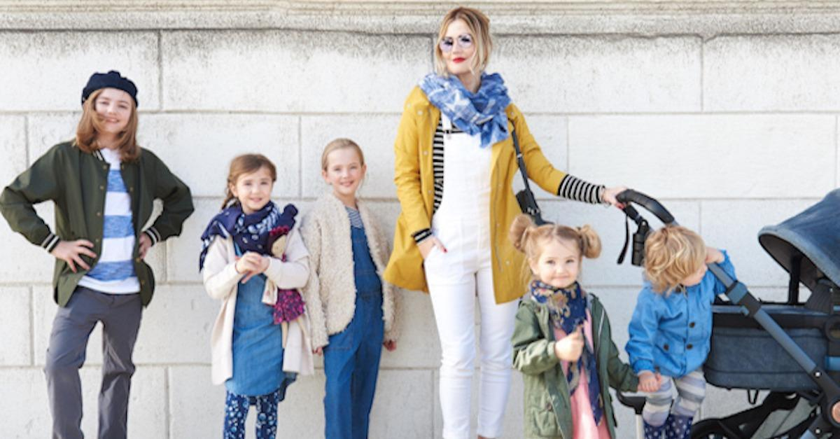 Working Mom with 6 Kids Still Finds Time for Style
