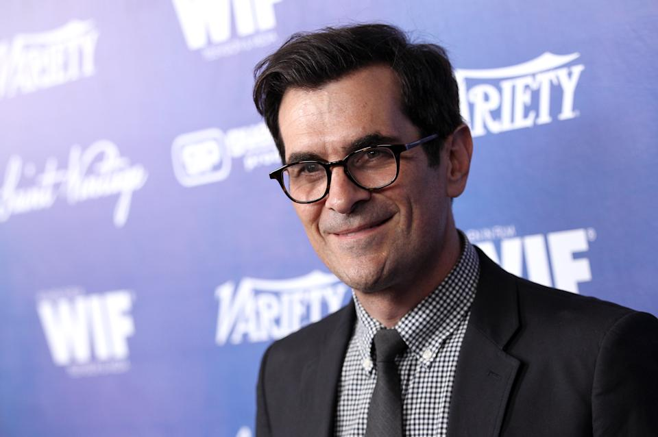 Ty Burrell attends the Variety and Women in Film Pre-Emmy Event at Scarpetta on Friday, Sept. 21, 2012, in Beverly Hills, Calif. (Photo by Matt Sayles/Invision/AP)