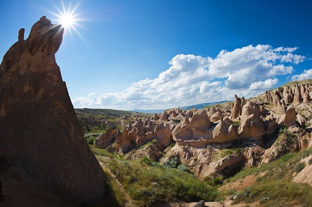 A fairy-world-like landscape, underground cities and cave dwellings render Cappadocia a one-of-a-kind adventure.