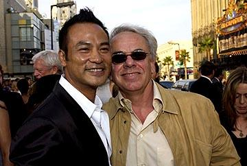 Simon Yam and Jan De Bont at the LA premiere of Paramount's Lara Croft Tomb Raider: The Cradle of Life