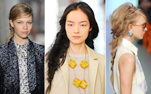 Hot Party Hair Idea: The Braid Bar