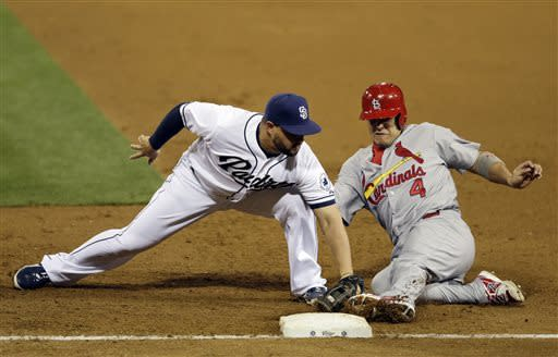 Lyons leads Cardinals past Padres 5-3