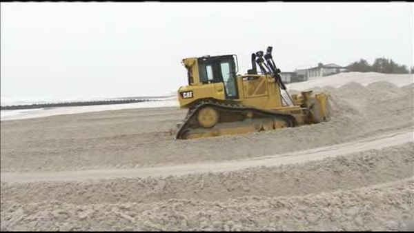 Sandy-battered NJ shore preps for Nor'easter