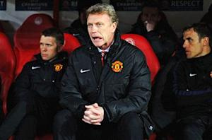 David Moyes: Manchester United 'didn't deserve to get anything'