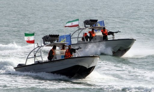 "<p>File picture shows Iranian Revolutionary Guards' naval vessels at the port of Bandar Abbas. Iran has ""captured"" an unmanned US drone over Gulf waters after it entered Iranian airspace, the Revolutionary Guards said in a statement on Tuesday.</p>"