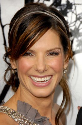 Sandra Bullock at the Hollywood premiere of TriStar Pictures' Premonition