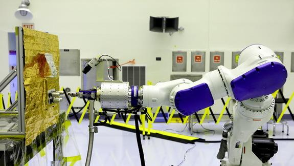 NASA Eyes Robotic Space Gas Stations for Satellites