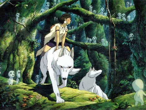 1997's 'Princess Mononoke'.