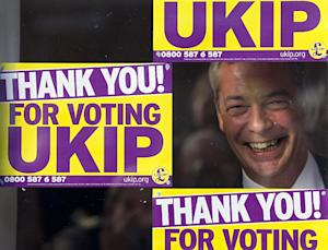 UK Independence Party (UKIP) leader Nigel Farage is …